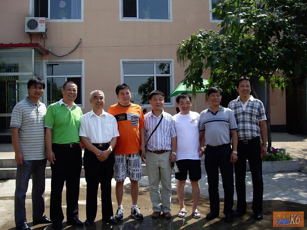 8月14日南京战友14人到烟台、大连、沈阳访问战友